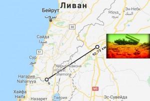 бесполетная зона в Сирии км