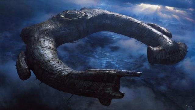 инопланетный корабль Нибиру