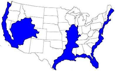 карта после того как треснет континент