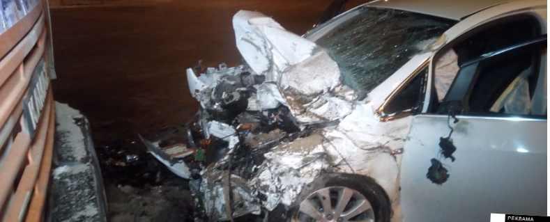 на визе ДТП авария Opel Камаз один пассажир погиб