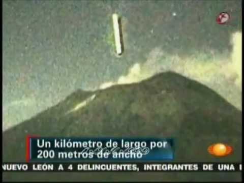 нло вулкан Попокатепетль