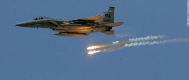 США напали и разбомбили Сирию