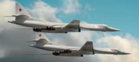 Два российских бомбардировщика Ту-160 пролетели возле Аляски