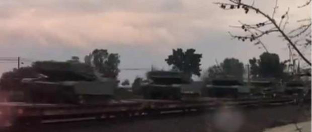 США гонят танки на Дальний Восток