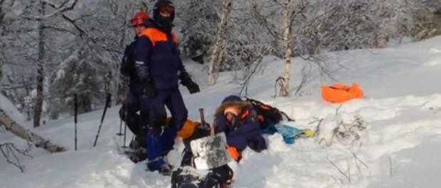 Появилось видео обнаружения туристки Елены Осиповой в лесу