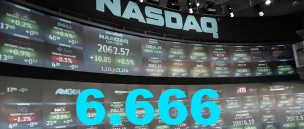 Индекс NASDAQ подаёт знак Конца Света