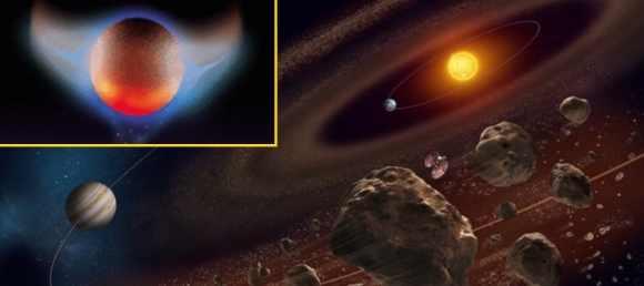 Нибиру начала уничтожение комет и астероидов