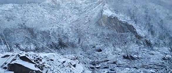 Оползень в Хабаровском крае имеет неземное происхождение