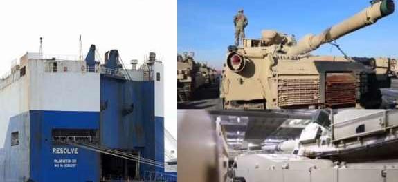 США перебрасывают военную технику и в Сирию, и в Венесуэлу