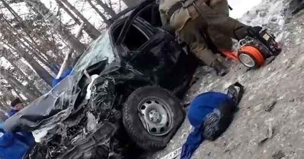 авария под Тюменью в которой погибли 4 человека видео фото