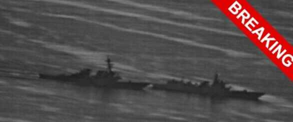 Китай утопил американский эсминец в Японском море