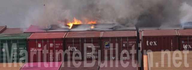 пожар в контейнере