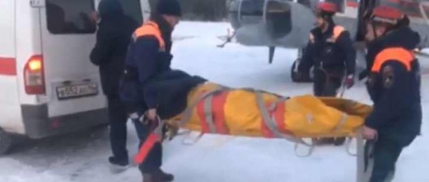 Туристки лежали под елками, поэтому их не видно было с вертолета