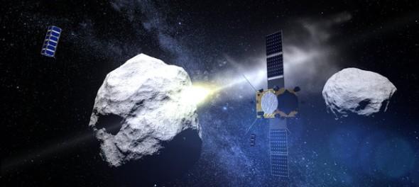 NASA атакует астероид впервые в истории