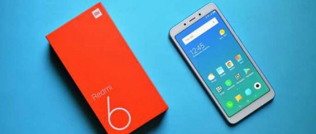 Xiaomi Redmi 6 уже продают за 7500 рублей