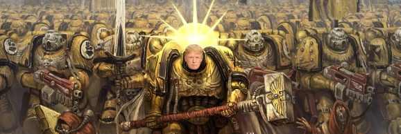 В Италии Дональд Трамп стал императором