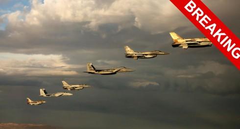 Израиль поднимет в воздух 70 самолетов