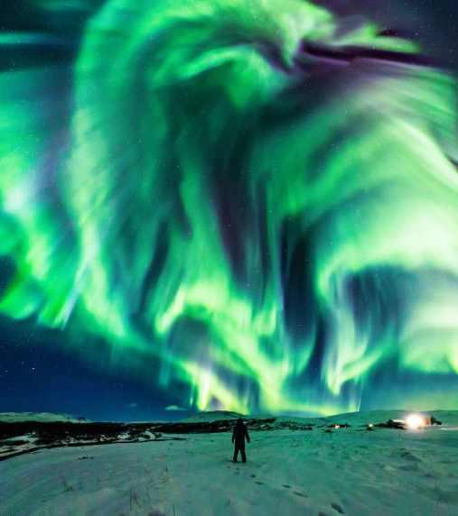 Исландия аврора