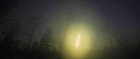 Испания падения метеорита