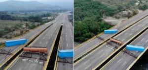 Контейнеры на магистрали Венесуэла