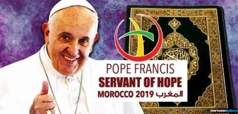 Логотип новой мировой религии представлен Ватиканом