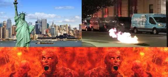 Нью-Йорк проваливается в Ад