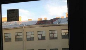 Обрушение крыши университета ИТМО в Питере