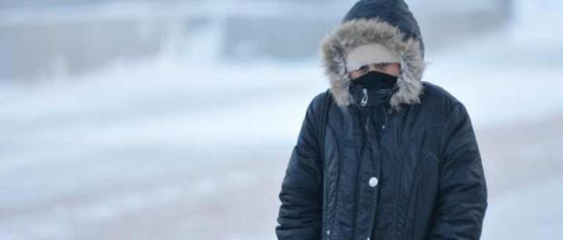На Урале наступают аномальные морозы, которых не было лет 30
