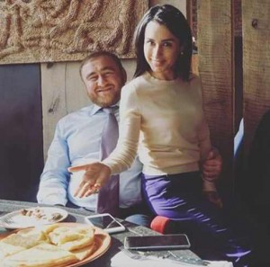 Тина Канделаки и Рауф Арашуков