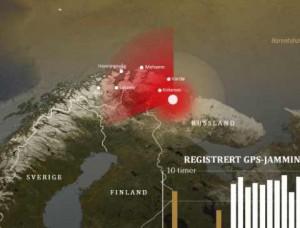 диаграмма применение российских РЭБ в Норвегии