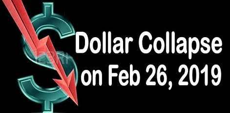 26 февраля ожидается глобальное падение доллара