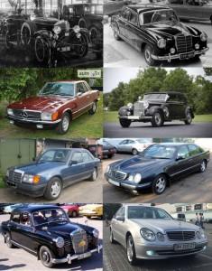 модельный ряд Мерседес автомобилей