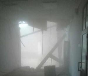 обрушение крыши в Питере университет