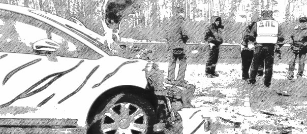 На Кольцовском тракте из-за женщины столкнулись 4 машины