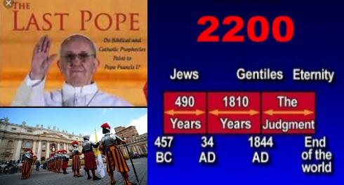Конец Света 22 марта будет связан с Ватиканом