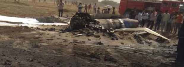 Пакистан сбил птицей истребитель Индии Миг-21