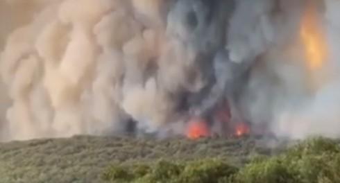 В пожарах в Австралии замечено энергетическое оружие