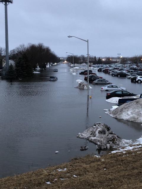 США наводнение