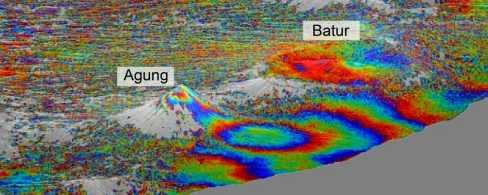 В вулкане Тоба произошло землетрясение