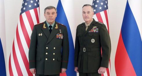 В Австрии встретились генералы России и США