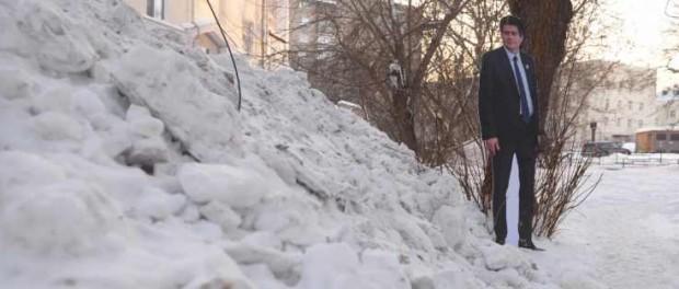 Иностранцы удивлены: Екатеринбург утопает в грязи и снегу