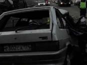девятка машина газель Авария Челябинск-Екатеринбург