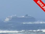 Крушение лайнера в Норвегии