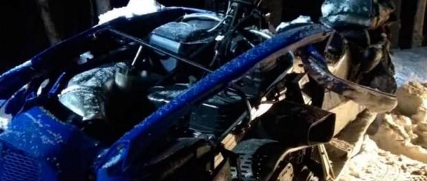 За выходные погибло сразу два водителя снегохода
