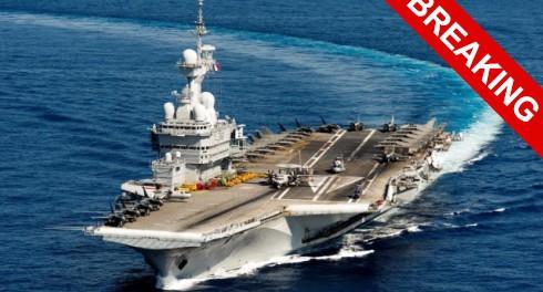 Франция хочет большой войны в Сирии и отправляет авианосец