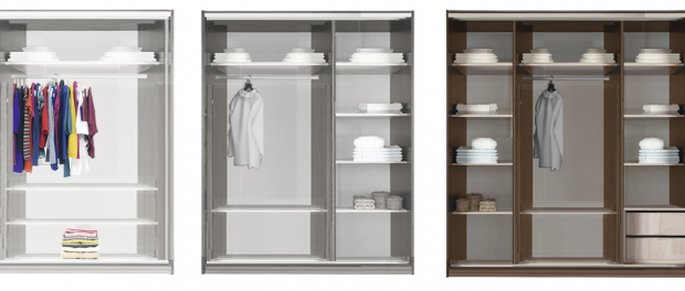 Какие выбрать двери для шкафа-купе?