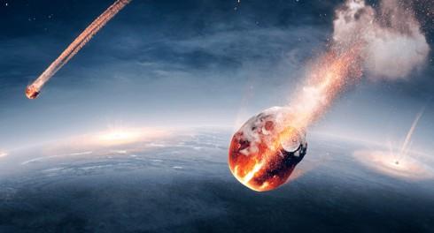 Над Беринговым морем упал чудовищный метеорит
