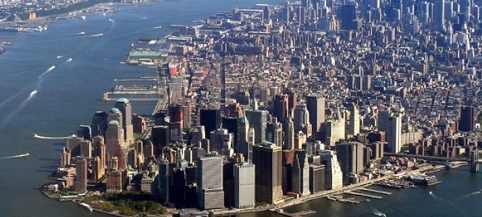 Манхэттен в Нью-Йорке готовиться в землетрясению