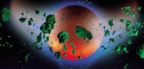 Нибиру закидало Землю зелеными метеоритами