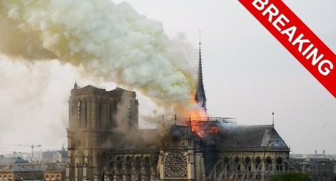 Это конец Европы: пожар Парижской Богоматери